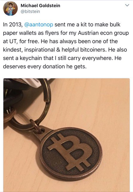 Bitcoin Community Shows Love for the Heroic Andreas Antonopoulos