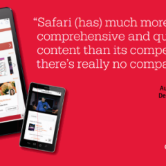 Win a year of access to O'Reilly Safari eBooks, videos, and more