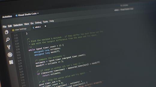 Linux kernel source code (C) in Visual Studio Code