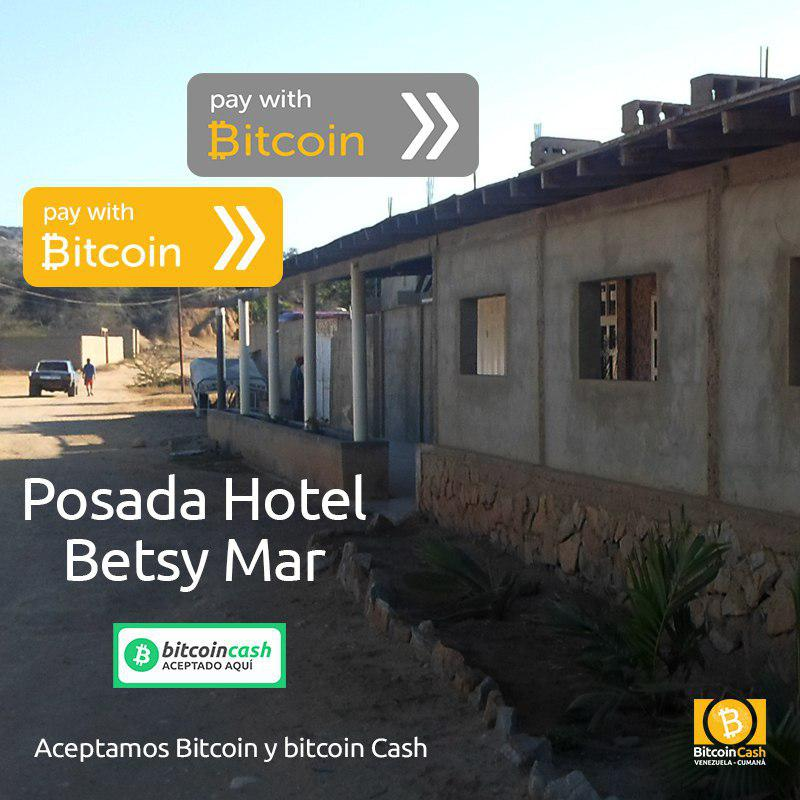 Hotels and Realtors in Venezuela's Historic Cumaná City Accept Bitcoin Cash