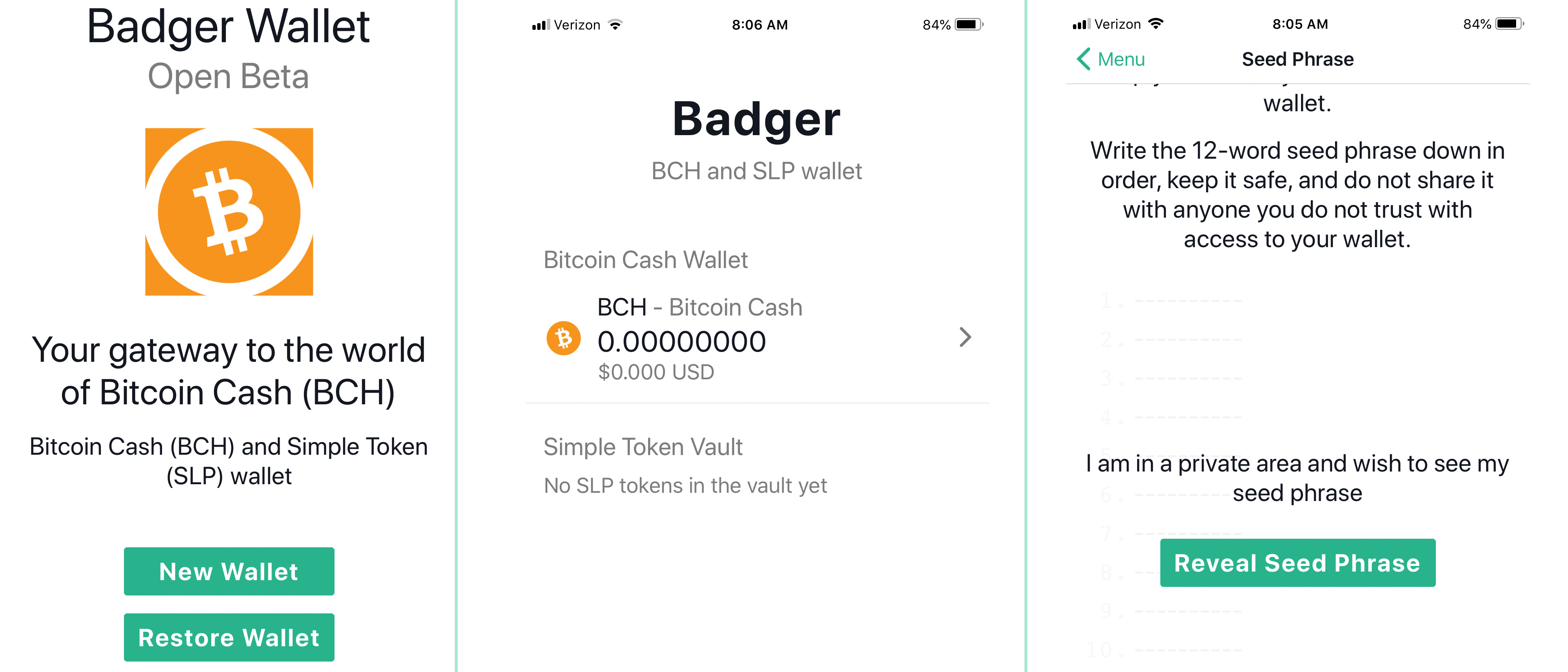 Bitcoin Cash and SLP-Fueled Badger Wallet Launches for iOS