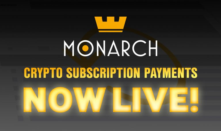 PR: Decentralized Recurring Crypto Payments System Launched by Monarch Blockchain