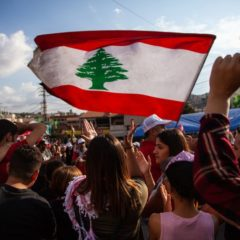 Lebanese Protestors Gather at Central Bank as Financial Lockout Continues