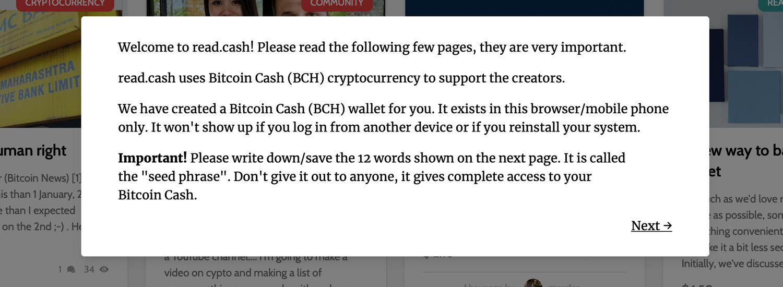 Read.cash Platform Rewards Content Creators With Bitcoin Cash Incentives