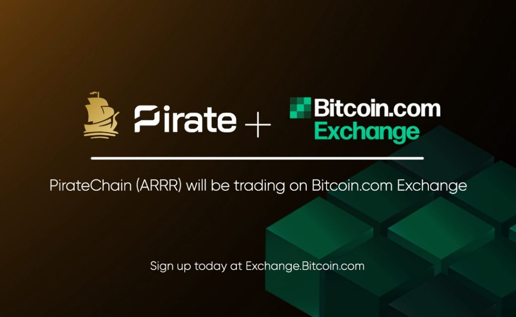 Pirate Chain Coin Now Available for Trading on Bitcoin.com Exchange, Joins New Alliance