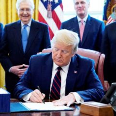 Trump Signs Largest Relief Bill in US History: When Will Americans Get Stimulus Checks
