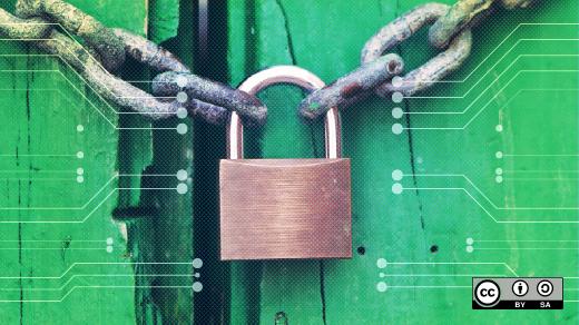 A secure lock.