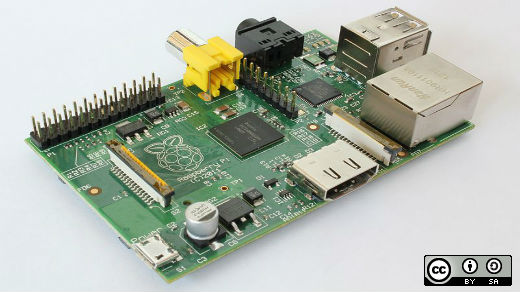 Raspberry Pi board Model B