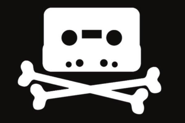 cassette tape pirate music