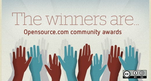 Top 50 authors: Opensource.com Community Awards 2021