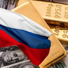 Gold Exceeds U.S. Dollars in Russia's Reserves as Putin Focuses on De-Dollarization