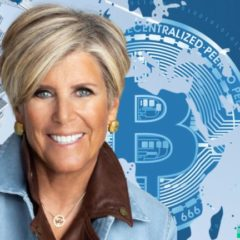 Personal Finance Expert Suze Orman Says 'I Love Bitcoin' — Advises How to Buy BTC, Praises Paypal