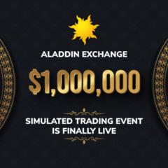 The $1,000,000 Aladdin Exchange Event Is Online