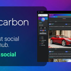 The Highly Anticipated Carbon Social Platform Has Launched