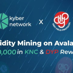 DeFi Yield Protocol Partners With KyberDMM to Boost DYP Token Liquidity on Avalanche